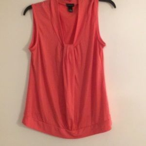 New Directions Orange Tank Top. Sz Small